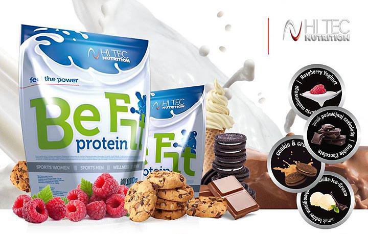 najlepszy design gorący produkt uznane marki HI TEC Be Fit Protein 1000 g - cena 62,30 zł   Sklep Sport-Max