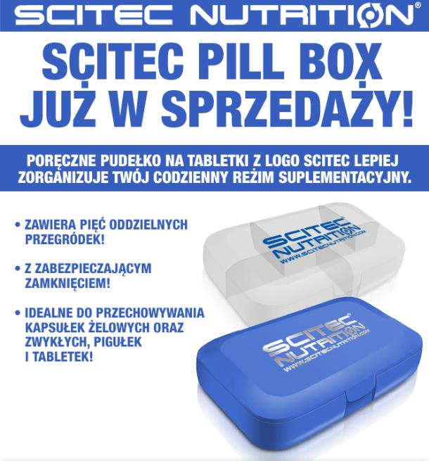Scitec Pillbox Przezroczysty 100 Beef